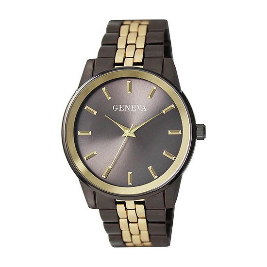 Geneva Mens Two Tone Bracelet Watch - Jry8169gug