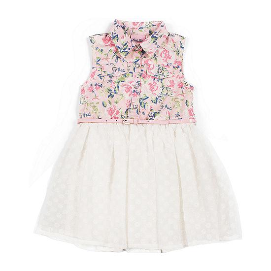 Little Lass Toddler Girls Sleeveless A-Line Dress