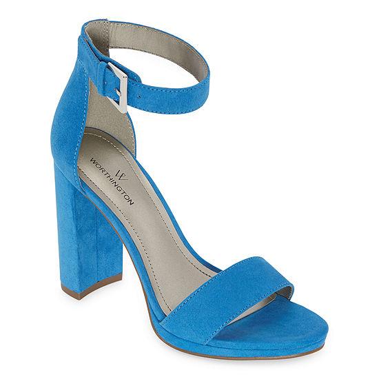 Worthington Womens Lafayette Heeled Sandals