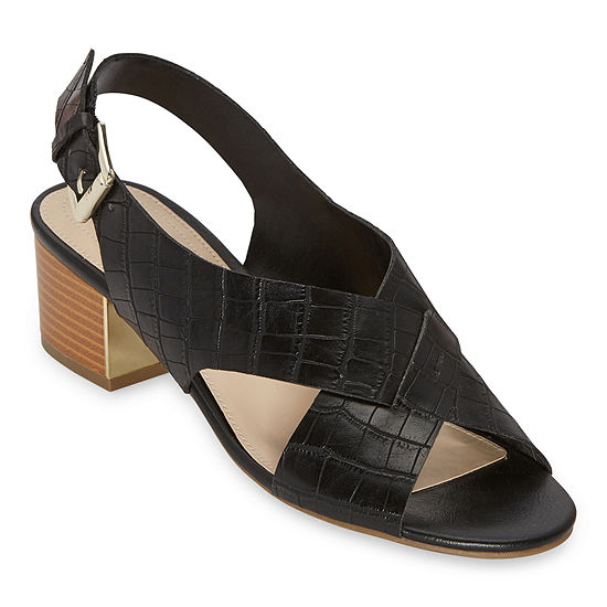 Liz Claiborne Womens Calista Heeled Sandals