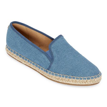 Liz Claiborne Womens Medley Slip-On Shoe, 8 Medium, Blue