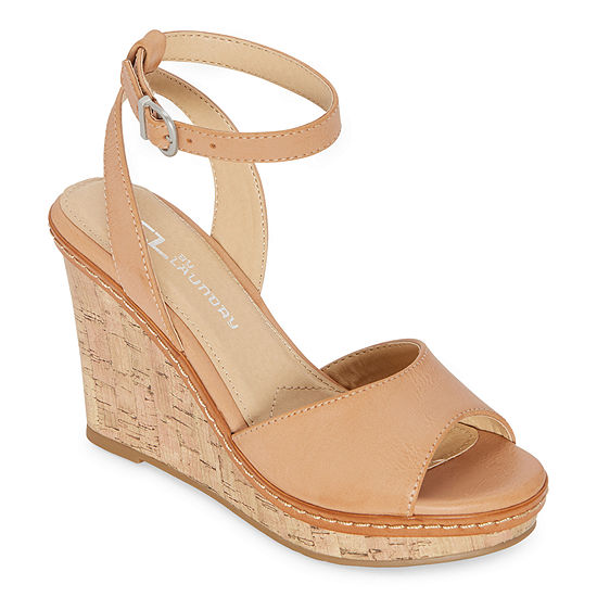 CL by Laundry Womens Brooks Wedge Sandals