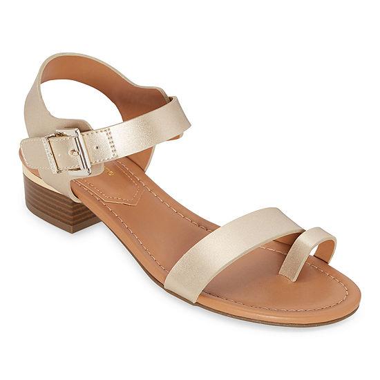 Liz Claiborne Womens Julep Strap Sandals