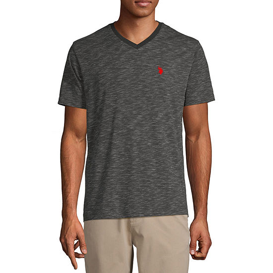 U.S. Polo Assn. Mens V Neck Short Sleeve T-Shirt