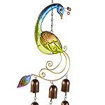 Outdoor Oasis Peacock Wind Chime