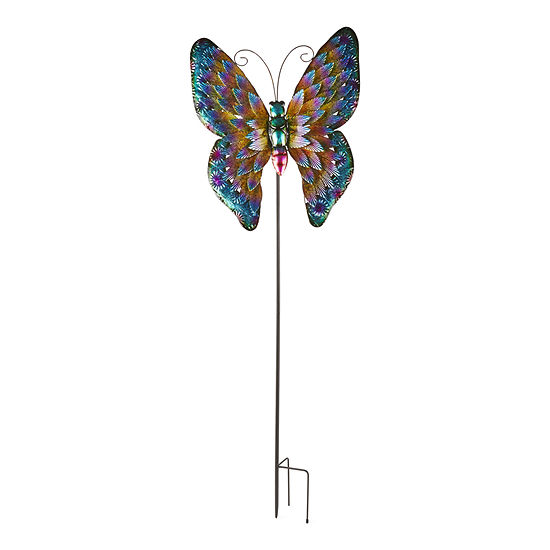 Outdoor Oasis Oversized Butterfly Yard Stake