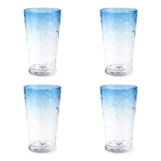 Outdoor Oasis Ombre 4-pc. Highball Glasses