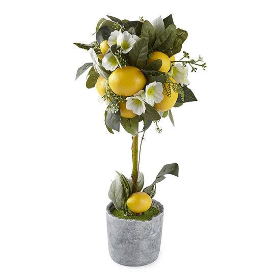 JCPenney Home Lemon Topiary Tabletop Decor