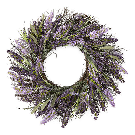 JCPenney Home Lavender Wreath