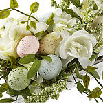 JCPenney Home Egg & Floral Arrangement