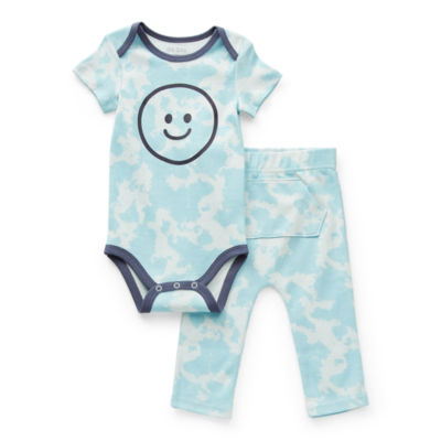 Okie Dokie Baby Boys 2-pc. Bodysuit Set
