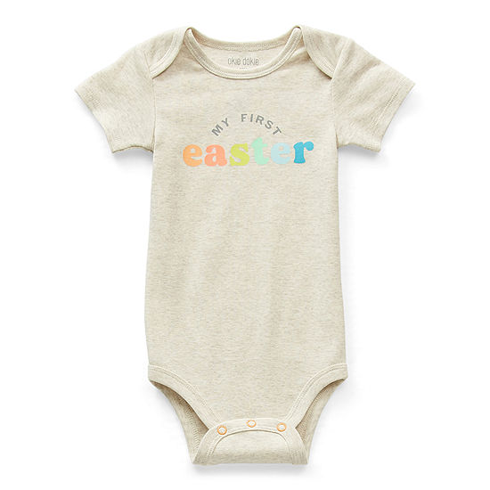 Okie Dokie My First Easter Baby Unisex Bodysuit