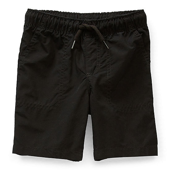 Okie Dokie Little Boys Mid Rise Pull-On Short