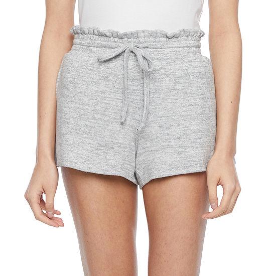 Flirtitude Juniors Knit Pull-On Short