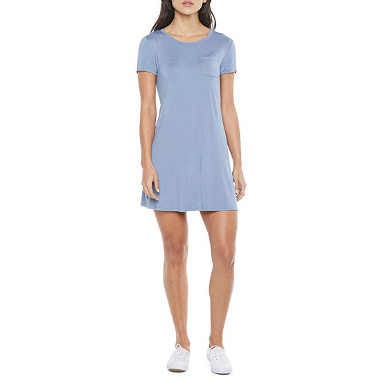 Arizona Juniors Short Sleeve T-Shirt Dress