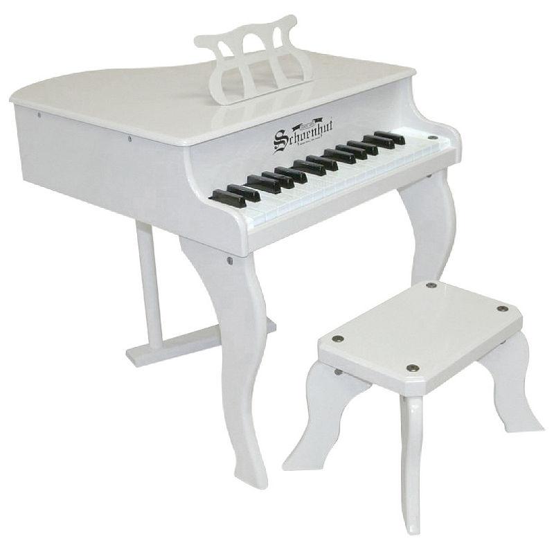 Schoenhut Baby Grand Toy Piano, White, One Size