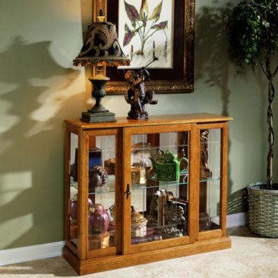 Alamos Console Curio Cabinet