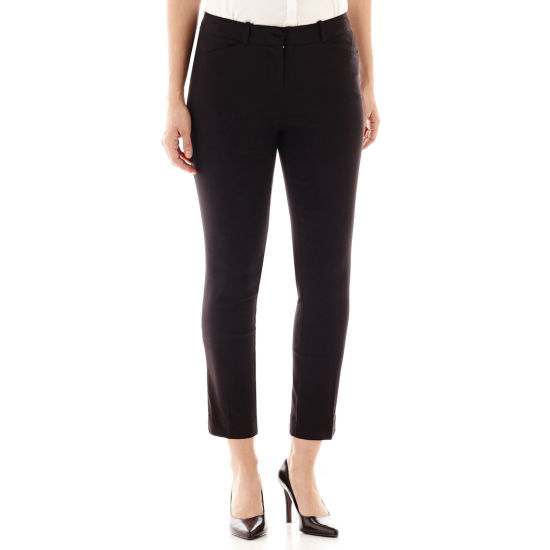 Worthington® Slim Ankle Pants - Tall Inseam 30""