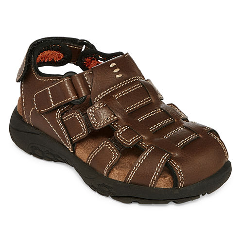 Okie Dokie Lil Darcy Boys Strap Sandals - Toddler