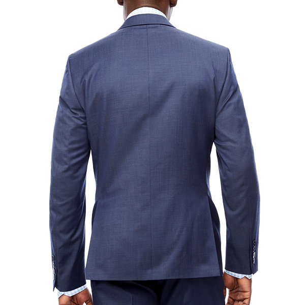 Collection by Michael Strahan  Pin Dot Slim Fit Suit Jacket