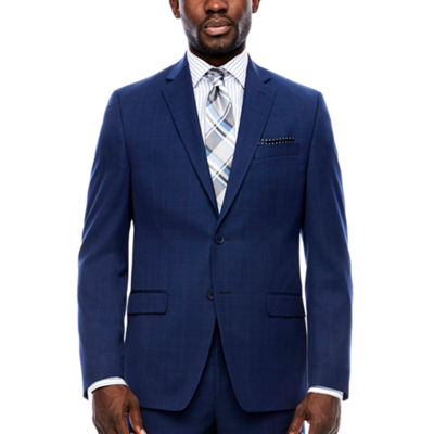 Collection by Michael Strahan  Plaid Classic Fit Suit Jacket