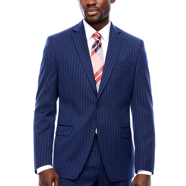Collection by Michael Strahan  Striped Classic Fit Suit Jacket