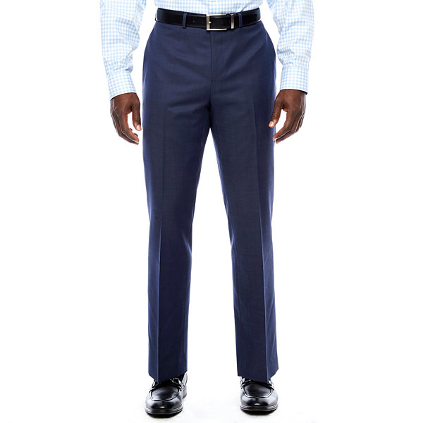 Collection by Michael Strahan  Pin Dot Slim Fit Suit Pants - Slim