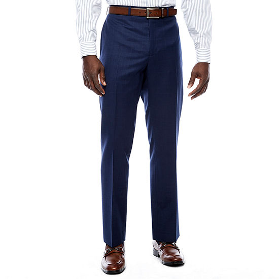 Collection by Michael Strahan  Mens Plaid Slim Fit Suit Pants - Slim