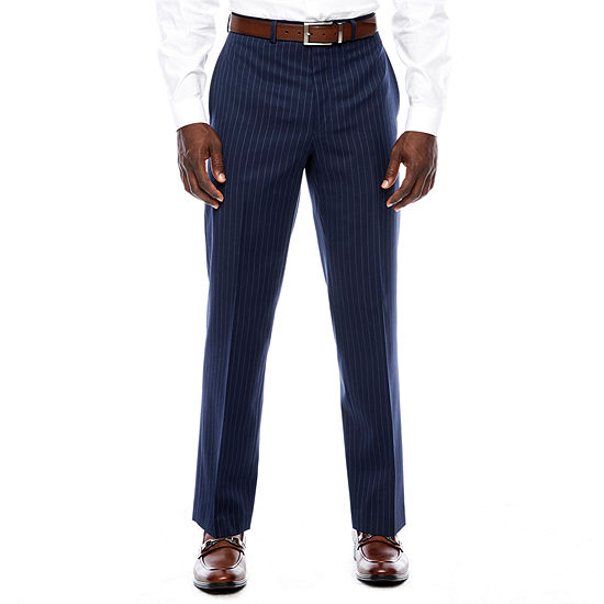 Collection by Michael Strahan  Striped Classic Fit Suit Pants