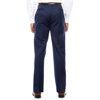 Collection by Michael Strahan  Stripe Classic Fit Suit Pants