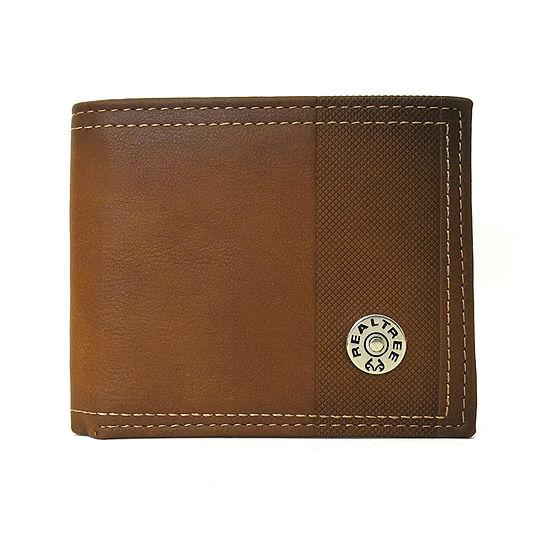 Realtree® Passcase Billfold Wallet with Logo Rivet