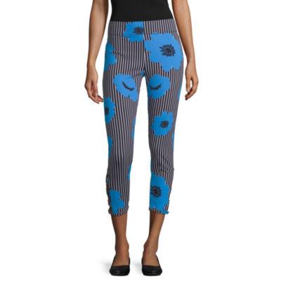 Mixit Side Cutout Capri Womens Legging
