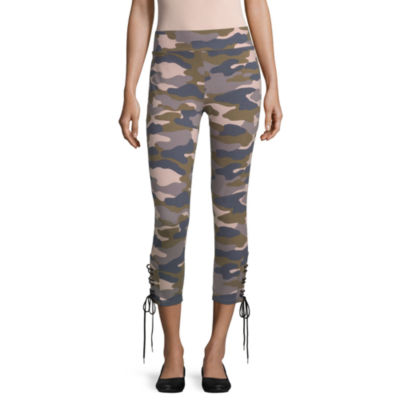 Mixit Side Lace Up Womens Legging