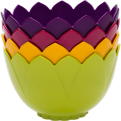 Zak Designs® Lotus 4-pc. Bowl Set