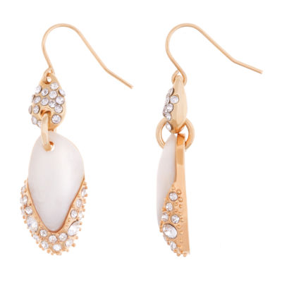 10021 | Kara Ross Crystal & Resin Drop Earrings