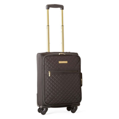 "Liz Claiborne Quilted 21"" Spinner Carry On Luggage"
