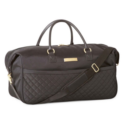 "Liz Claiborne Quilted 22"" Wheeled Duffel"