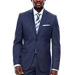 Collection by Michael Strahan  Mens Pin Dot Slim Fit Suit Jacket