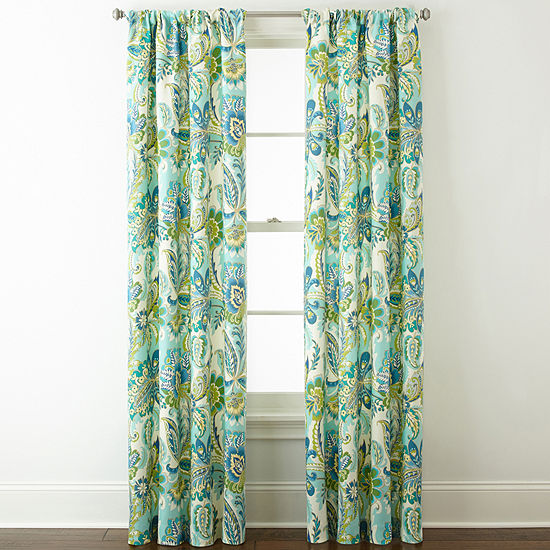 Home Expressions Charlotte 2 Pack Rod Pocket Curtain Panels