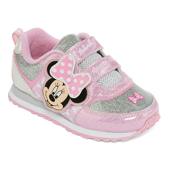 Disney Minnie Mouse Girls Sneakers Toddler