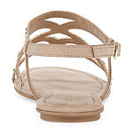 Arizona Womens Marley Flat Sandals