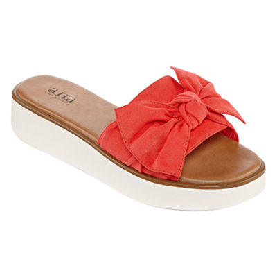 a.n.a Womens Ballard Wedge Sandals