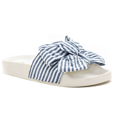 GC Shoes Womens Nautical Slide Sandals