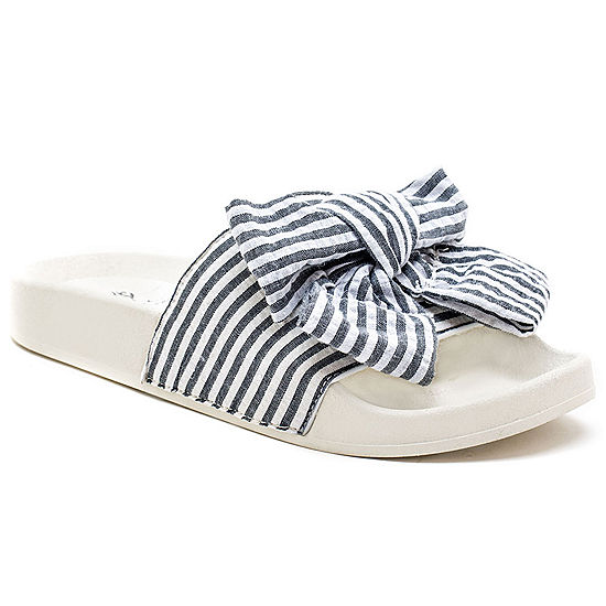 0c82d7a8eeb6 GC Shoes Womens Nautical Slide Sandals - JCPenney