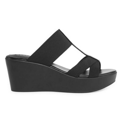 Style Charles Womens Japan Wedge Sandals