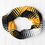 Design Imports Striped Scarf
