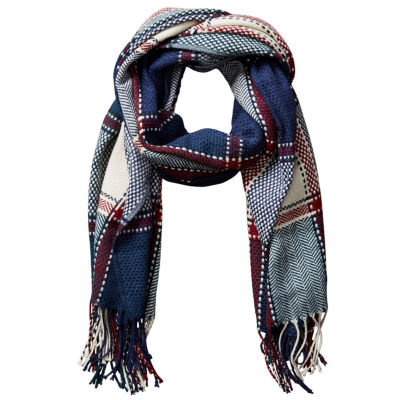 Design Imports Plaid Wrap Cold Weather Scarf