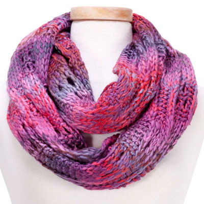 Design Imports Abstract Infinity Cold Weather Scarf
