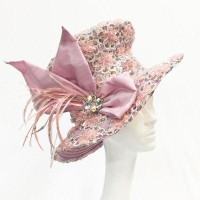 Whittall & Shon Large Brim Derby Hat