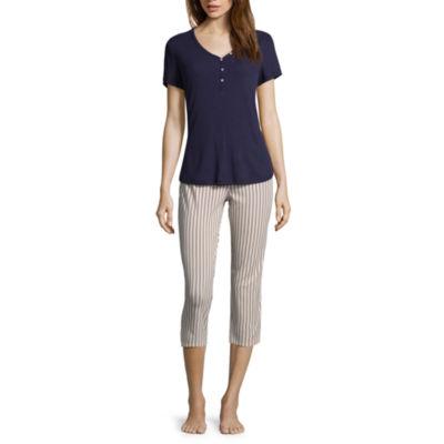 Liz Claiborne Capri Pajama Set